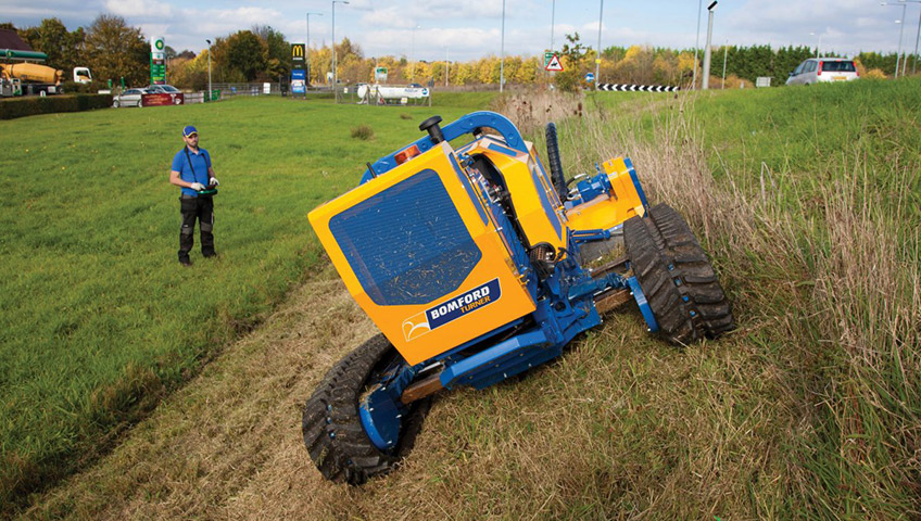 Bomford Flailbot Remote Controlled Mower