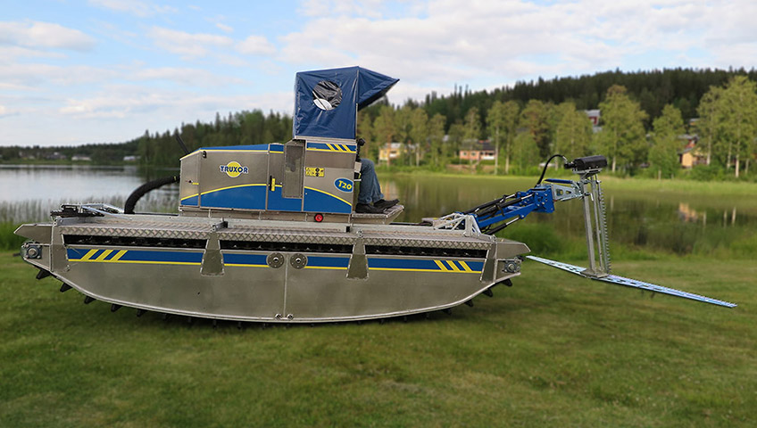 Truxor T20 Amphibious Equipment